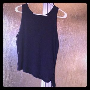 Pure Barre Tank (Navy, Size Large)